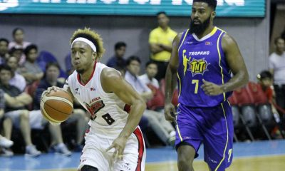 Tiebreaker Times Staying Alive: Aces sneak past Tropang TNT Basketball News PBA  Talk N Text Tropang Texters Sonny Thoss Rob Dozier Ranidel De Ocampo PBA Season 41 Jong Uichico Jayson Castro David Simon Alex Compton Alaska Aces 2016 PBA Commissioners Cup