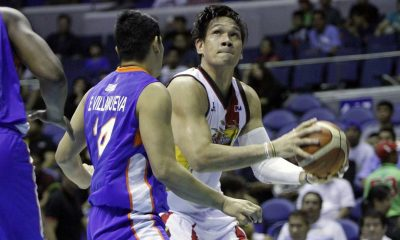 Tiebreaker Times Austria admits playing Fajardo bigger minutes to help him regain rhythm Basketball News PBA  San Miguel Beermen PBA Season 41 Leo Austria June Mar Fajardo 2016 PBA Commissioners Cup