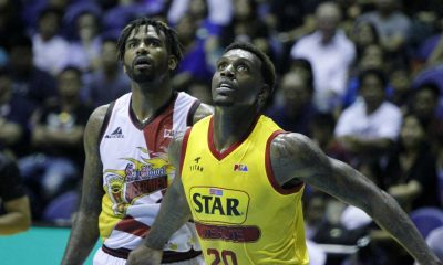 Tiebreaker Times Too much Tyler Wilkerson on offense? Not a concern for San Miguel Basketball News PBA  Tyler Wilkerson San Miguel Beermen PBA Season 41 Leo Austria June Mar Fajardo 2016 PBA Commissioners Cup