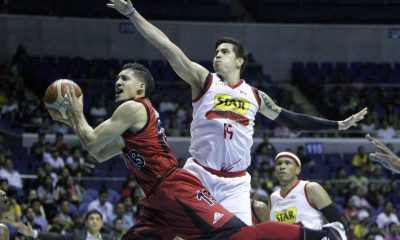 Tiebreaker Times Pingris on Game One upset: 'Gusto talaga naming manalo' Basketball News PBA  Star Hotshots PBA Season 41 Marc Pingris 2016 PBA Commissioners Cup