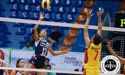 Tiebreaker Times Petron ends campaign on a high note, defeats F2 News PSL Volleyball  PSL Invitational 2016 Petron Tri-activ Spikers Pau Soriano Paneng Mercado Mayi Prochina Maica Morada Len Cortel Jen Reyes Janet Serafica Grace Masangkay George Pascua F2 Logistics Cargo Movers Ces Molina Aiza Maizo-Pontillas Aby Marano