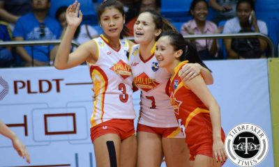 Tiebreaker Times Philips Gold transitions to new era, moves to Shakey's V-League News PVL Volleyball  Rosemaria Vargas Ria Meneses Philips Gold Lady Slammers Myla Pablo Michele Gumabao Melissa Gohing Eric Ty Elaine Kasilag 2016 Shakey's V-League Season 2016 Shakey's V-League Open Conference