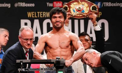 Tiebreaker Times Top Rank chief books date, venue for 'retired' Pacquiao Boxing News  Top Rank Boxing Manny Pacquiao Bob Arum