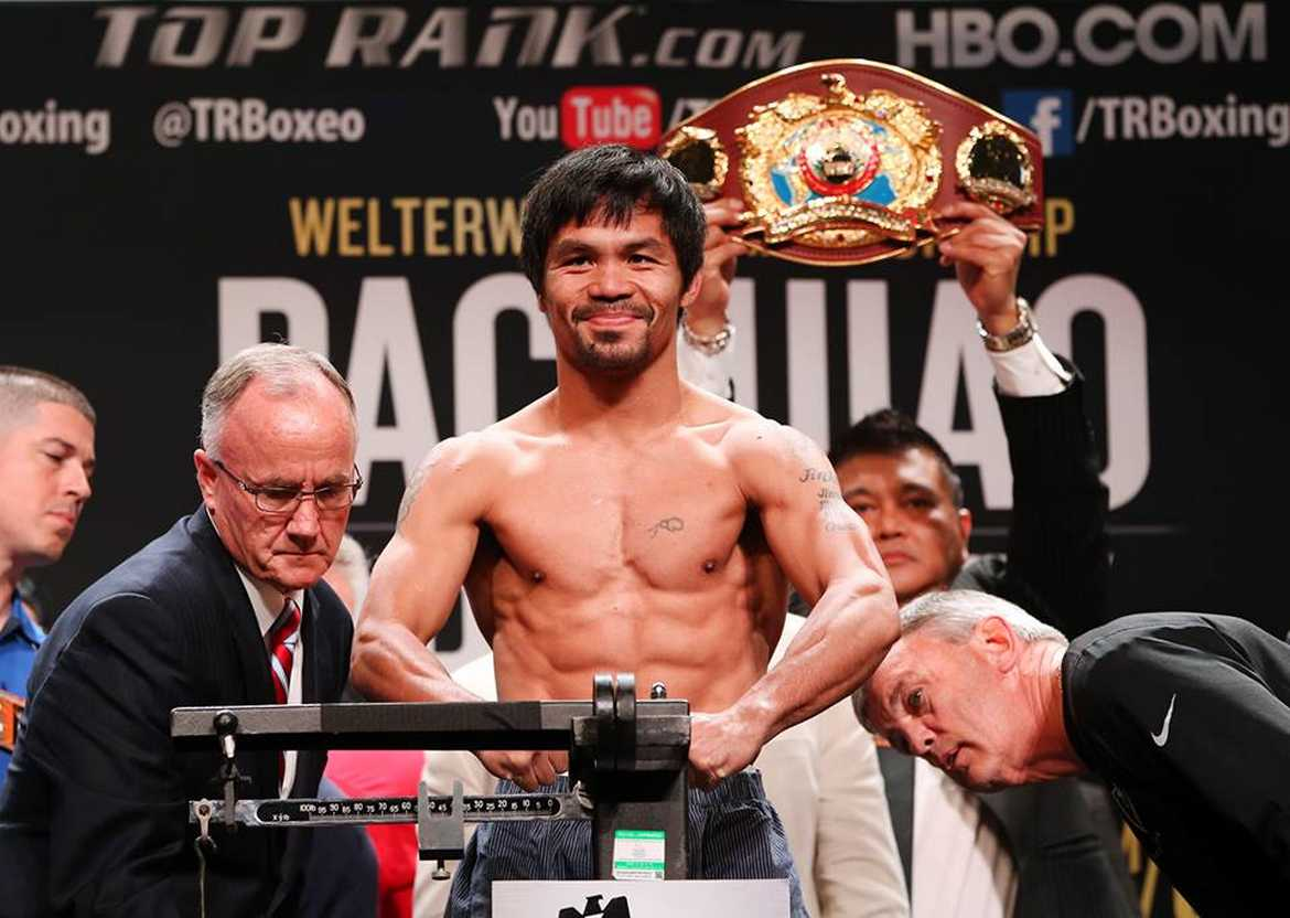 Tiebreaker Times Palace congratulates Pacquiao, grateful for bringing Filipinos to the world stage Boxing News  Top Rank Promotions Manny Pacquiao