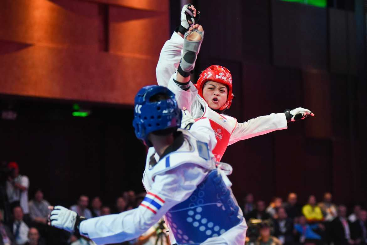 Philippine Sports News - Tiebreaker Times Lopez misses last-chance bus to 2016 Olympics News Taekwondo  Pauline Lopez 2016 Asian Taekwondo Olympic Qualifier