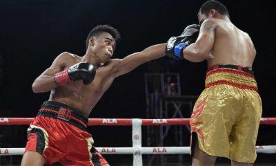 Tiebreaker Times Jeo Santisima puts up valiant stand, still falls to Navarette Boxing News  Unfinished Buiness (Boxing) Jeo Santisima Emanuel Navarrete ALA Promotions