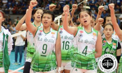 Tiebreaker Times Coach RDJ in full support of #KAF1MoreYear DLSU News PSL Volleyball  UAAP Season 79 Women's Volleyball UAAP Season 79 Ramil De Jesus Kim Fajardo F2 Logistics Cargo Movers DLSU Women's Volleyball 2016 PSL Season 2016 PSL All Filipino Conference