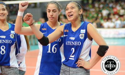 Tiebreaker Times Ahomiro on Valdez's performance: 'I thought she had 50' ADMU News UAAP Volleyball  UAAP Season 78 Women's Volleyball UAAP Season 78 Ateneo Women's Volleyball Amy Ahomiro Alyssa Valdez