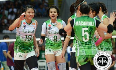 Tiebreaker Times Galang left frustrated with La Salle's fifth set collapse DLSU News UAAP Volleyball  UAAP Season 78 Women's Volleyball UAAP Season 78 DLSU Woen's Volleyball Ara Galang