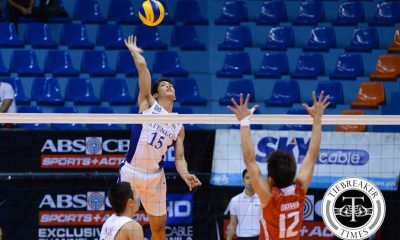 Tiebreaker Times Blue Eagles near second round sweep, thrash Red Warriors ADMU News UAAP UE Volleyball  UE Men's Volleyball UAAP Season 78 Men's Volleyball UAAP Season 78 Ruvince Abrot Ruel Pascual Rex Intal Oliver Almadro Noel Alba Marck Espejo Manuel Sumanguid Josh Villanueva Edward Camposano Ateneo Men's Volleyball Adrian Imperial