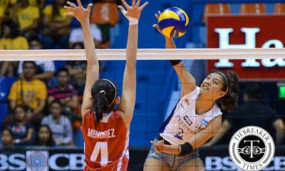 Tiebreaker Times Lady Eagles send Lady Warriors to 58th straight loss ADMU News UAAP UE Volleyball  UE Women's Volleyball UAAP Season 78 Women's Volleyball UAAP Season 78 Tai Bundit Shaya Adorador Roselle Baliton Kathleen Arado Jia Morado Jho Maraguinot Gizelle Tan Francis Vicente Celine Domingo Ateneo Women's Volleyball Alyssa Valdez
