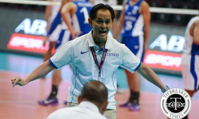 Tiebreaker Times UAAP commissioner addresses 'inconsistent' officiating News UAAP Volleyball  UAAP Season 78 Women's Volleyball UAAP Season 78 Roger Gorayeb Oliver Almadro Noreen Go Kungfu Reyes