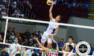 Tiebreaker Times Ateneo whips UP, makes third straight Finals appearance ADMU News UAAP UP Volleyball  Ysay Marasigan Wendel Miguel UP Men's Volleyball UAAPSeason 78 UAAP Season 78 Men's Volleyball Rodrigo Palmero Rex Intal Oliver Almadro Marck Espejo Mac Millete Ateneo Men's Volleyball Alfred Valbuena
