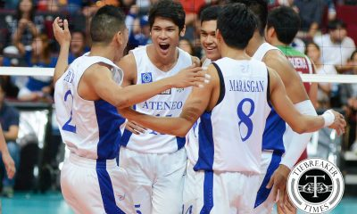 Tiebreaker Times 'High risk, high reward' approach paying dividends for Espejo, Ateneo ADMU News UAAP Volleyball  UAAP Season 78 Men's Volleyball UAAP Season 78 Marck Espejo Ateneo Men's Volleyball