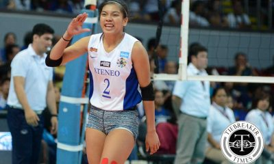 Tiebreaker Times The Final Act of Valdez: Ateneo-La Salle Episode V ADMU News UAAP Volleyball  UAAP Season 78 Women's Volleyball UAAP Season 78 Ateneo Women's Volleyball Alyssa Valdez