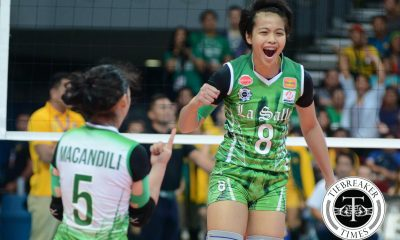 Tiebreaker Times Galang wants to reclaim what her injury took DLSU News UAAP Volleyball  UAAP Season 78 Women's Volleyball UAAP Season 78 DLSU Women's Volleyball Ara Galang