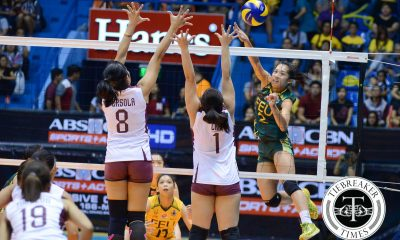 Tiebreaker Times Lady Tams outmuscle Lady Maroons, gain leverage in F4 race FEU News UAAP UP Volleyball  UP Men's Volleyball UAAP Season 78 Women's Volleyball UAAP Season 78 Toni Basas Shaq delos Santos Ria Duremdes Remy Palma Nicole Tiamzon Jewel Lai Jerry Yee Isa Molde Gyzelle Sy FEU Men's Volleyball Diana Carlos Bernadeth Pons Arielle Estranero