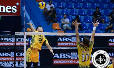 Tiebreaker Times FEU takes down UST but misses Final Four FEU News UAAP UST Volleyball  UST Men's Volleyball UE Men's Volleyball UAAP Season 78 Men's Volleyball UAAP Season 78 Rikko Marmeto Reynaldo Diaz Patrick Balse Odjie Mamon Mark Pangan MAnuel Medina Jude Garcia Joshua Barrica Jeric Gacutan Arnold Bautista