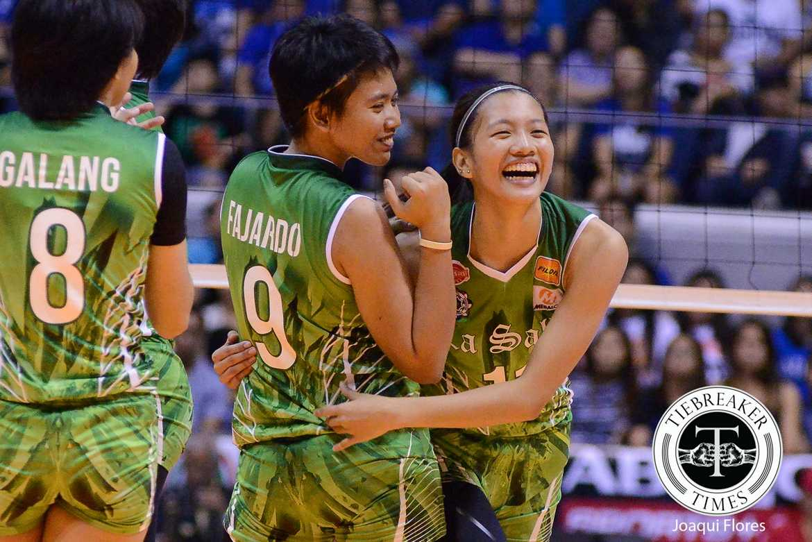 Tiebreaker Times From bench player to MVP, Kim Dy relishes championship DLSU News UAAP Volleyball  UAAP Season 78 Women's Volleyball UAAP Season 78 Kim Dy DLSU Women's Volleyball