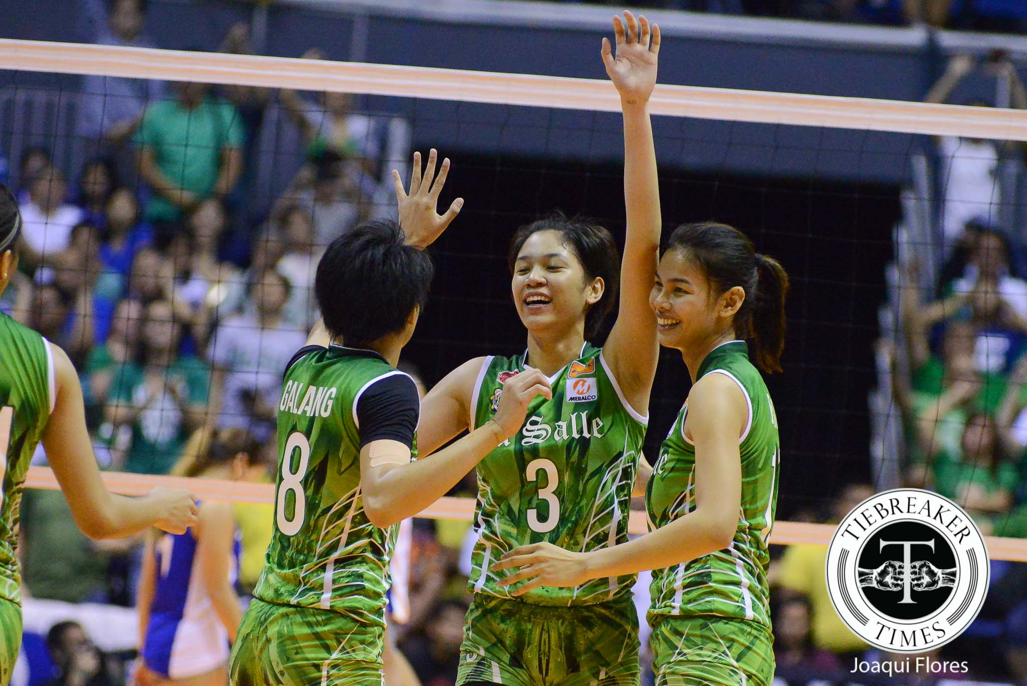 Tiebreaker Times Mika Reyes puts decisive closure to rivalry, UAAP career DLSU News UAAP Volleyball  UAAP Season 78 Women's Volleyball UAAP Season 78 Mika Reyes DLSU Women's Volleyball