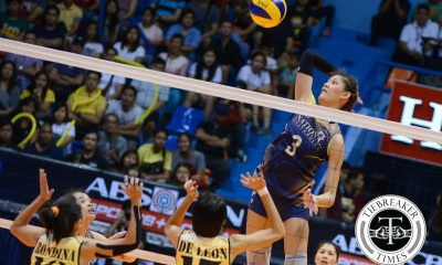 Tiebreaker Times Lady Bulldogs eliminate Tigresses, keep Final Four hopes alive News NU UAAP UST Volleyball  UST Women's Volleyball UAAP Season 78 Women's Volleyball UAAP Season 78 Roger Gorayeb RJ Rivera Rica Diolan Ria Meneses NU Women's Volleyball Myla Pablo Kung Fu Reyes Jorelle Singh Jaja Santiago Gayle Valdez EJ Laure Cherry Rondina