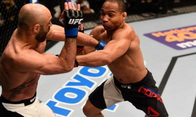 Tiebreaker Times Magical win for Fil-Am Dodson in bantamweight return Mixed Martial Arts News UFC  UFC Fight Night Tampa Manny Gamburyan John Dodson
