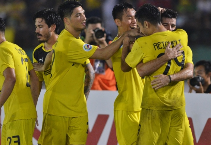 Tiebreaker Times Ceres-La Salle through to Singapore Cup semi-finals despite DPMM comeback Football News  Stephan Schrock Louie Casas Jeffrey Christiaens Ceres-La Salle FC 2016 Singapore Cup
