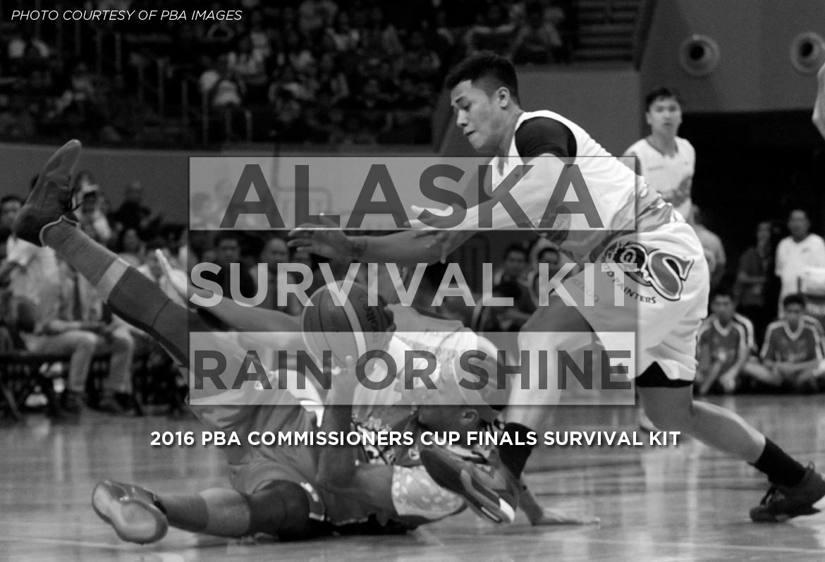 Tiebreaker Times 2016 PBA Comm's Cup Finals - Alaska vs ROS: Survival Kit Bandwagon Wire News PBA  Yeng Guiao RJ Jazul Rain or Shine Elasto Painters PBA Season 41 Paul Lee JR Quinahan Jeff Chan Chris Banchero Calvin Abueva Alex Compton Alaska Aces 2016 PBA Commissioners Cup