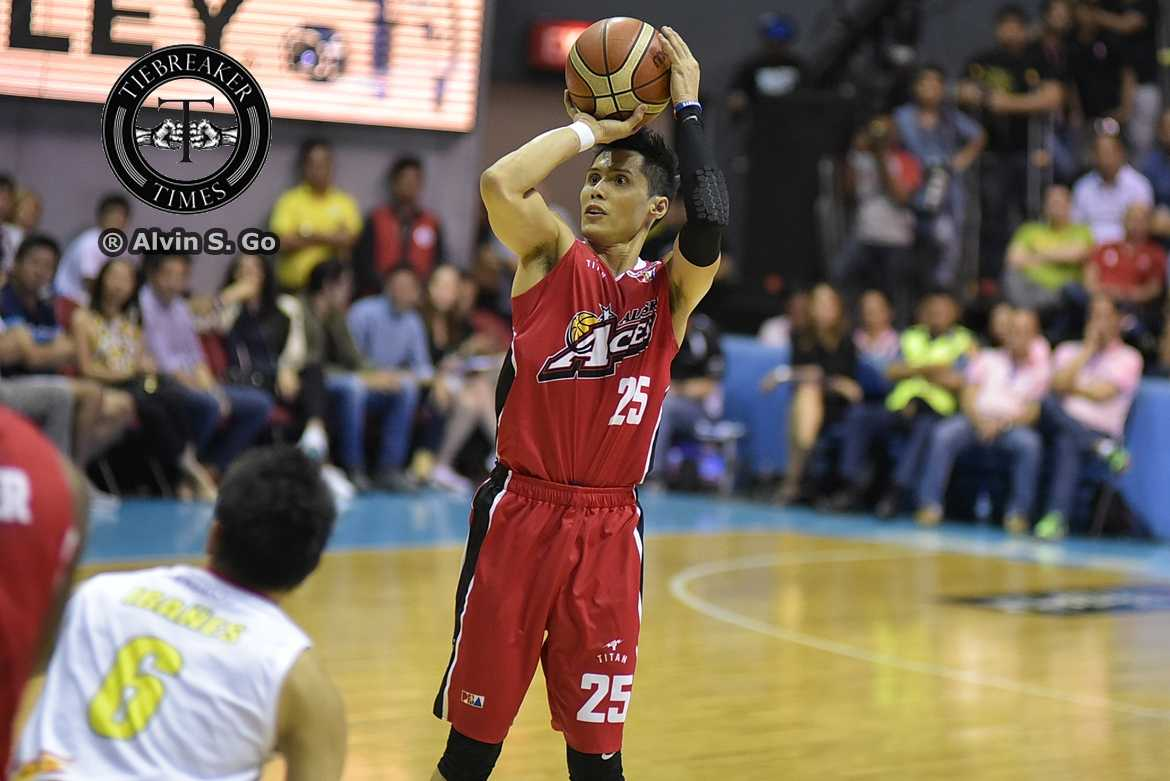 Philippine Sports News - Tiebreaker Times Dondon Hontiveros does not call it a day, signs with Alab ABL Alab Pilipinas Basketball News  Dondon Hontiveros 2017-18 ABL Season