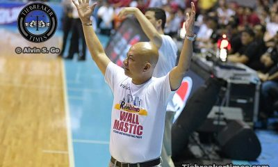 Tiebreaker Times Guiao says discrepancy in free throws in Game 5 loss 'just too big' Basketball News PBA  Yeng Guiao Rain or Shine Elasto Painters PBA Season 41 2016 PBA Commissioners Cup