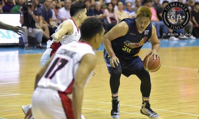 Tiebreaker Times Why Beau Belga chose the 'pako' analogy to describe ROS' campaign Basketball News PBA  Rain or Shine Elasto Painters PBA Season 41 Beau Belga 2016 PBA Commissioners Cup