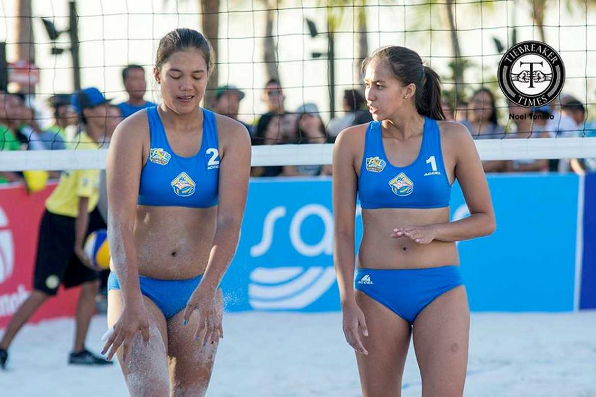 Tiebreaker Times RC Cola-Army's Gonzaga-Bautista shine; Pineda back with a bang Beach Volleyball FEU News PSL UE  Vhima Condada UE Women's Volleyball RC Cola Army Lady Troopers Princess Listana Petron Sprint 4T Patty Orendain Nene Bautista Meralco Power Spikers Mary Grace Berte Maica Morada Kyla Atienza Jovelyn Gonzaga Foton Toplander FEU Women's Volleyball F2 Logistics Cargo Movers Danika Gendrauli Cignal HD Spikers Cherry Rondina Ces Molina Bernadeth Pons Bang Pineda Aiza Maizo-Pontillas Aileen Abuel Aby Marano 2016 PSL Season 2016 PSL Beach Volleyball Challenge Cup