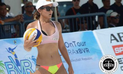 Tiebreaker Times Perlas duo Bea Tan-Dij Rodriguez, Air Force's Abria-Becaldo rule BVR: Lingayen Open Beach Volleyball BVR News  Roma Joy Doromal Randy Fallorina Pol Salvador Mike Abria Kly Orillaneda Jason Uy James Buytrago Jade Becaldo Jackie Estoquia DM Demontano Dij Rodriguez Bea Tan 2019 BVR Season