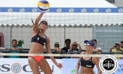 Tiebreaker Times BVR Regulars cruise past pool phase Beach Volleyball BVR News  Jusabelle Brillo Judy Caballejo Jennifer Cosas Jackie Estaquia Flor Rodriguez Fiola Ceballos Erjane Magdato DM Demontano Charo Soriano Camille Abanto Bea Tan Apple Saraum Alexa Polidario Alexa Micek 2015-16 BVR on Tour