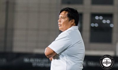 Tiebreaker Times Coach Manlulo on Lady Eagles: 'They have to be more mature, competitive' ADMU Football News UAAP  UAAP Season 78 Women's Football Tournament UAAP Season 78 Bob Manlulo Ateneo Women's Football Team