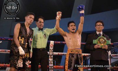 Tiebreaker Times Pumicpic vies for WBO Intercontinental belt against Juarez Boxing News  Richard Pumicpic Cesar Juarez