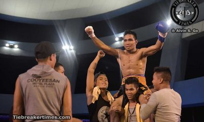 Tiebreaker Times Francisco survives late scare; Pumicpic cops WBC International title via 8th round TD Boxing News  Yuta Nakagawa Yusuke Suzuki Silvester Lopez Richard Pumicpic Renan Trongco Lunjuen Retuerto Jonathan Ligas Jomar Borbon Joe Noynay Jeffrey Francisco Gabriel S. Elorde Jr. Elorde Boxing Dave Penalosa Allan Vallespin