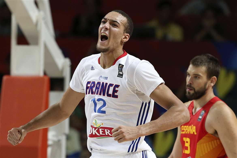 Tiebreaker Times French big man Gobert to miss Manila OQT 2016 Manila OQT  Basketball France News 4bb7a8275