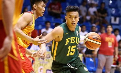 Tiebreaker Times New-look Tamaraws overwhelm Golden Stags Basketball FEU News SSC-R  Steve Holmqvist San Sebastian Seniors Basketball Ryan Costelo Nash Racela Monbert Arong Michael Calisaan Joe Trinidad Jason David FEU Men's Basketball Egay Macaraya 2016 Filoil Flying V Premier Cup
