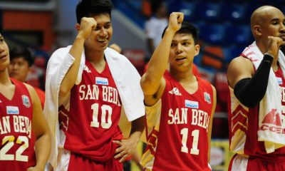 Tiebreaker Times San Beda Red Lions: NCAA Season 92 Starter Pack Bandwagon Wire Basketball NCAA SBC  San Beda Seniors Basketball NCAA Season 92 Seniors Basketball NCAA Season 92 Jamike Jarin