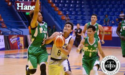 Tiebreaker Times Bulldogs stifle Blazers in low-scoring affair Basketball CSB News NU  Rene Sta Maria Reggie Morido NU Men's Basketball Matt Salem Gabby Velasco Eric Altamirano Clement Leutcheu Christian Fajarito Cedrick Labing-isa Benilde Seniors Basketball 2016 Filoil Flying V Premier Cup