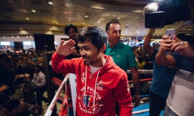 Tiebreaker Times Now a senator, Pacquiao should hang up gloves says Top Rank CEO Boxing News  Top Rank Boxing Manny Pacquiao Bob Arum