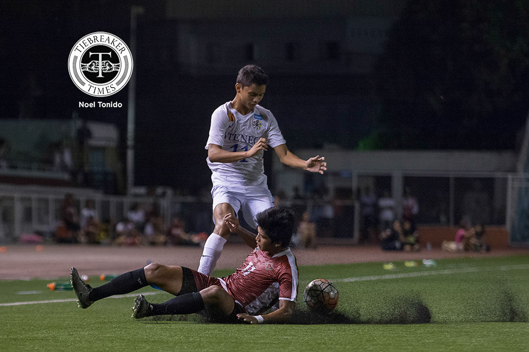 Philippine Sports News - Tiebreaker Times Gayoso to use rookie heartache as motivation for success ADMU Football News UAAP  UAAP Season 78 Men's Football Tournament UAAP Season 78 Jarvey Gayoso Ateneo Men's Football Team