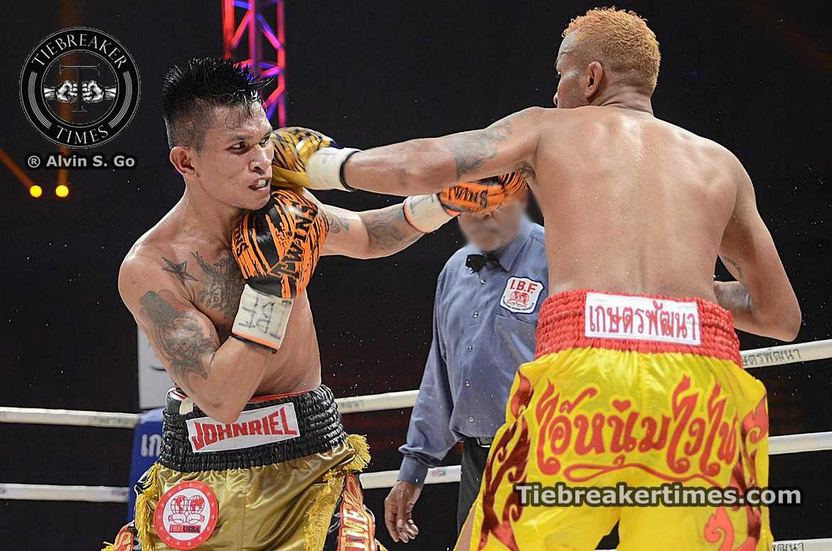 Tiebreaker Times Casimero knocks out Thai tormentor to win IBF world title Boxing News  John Riel Casimero Amnat Ruenroeng
