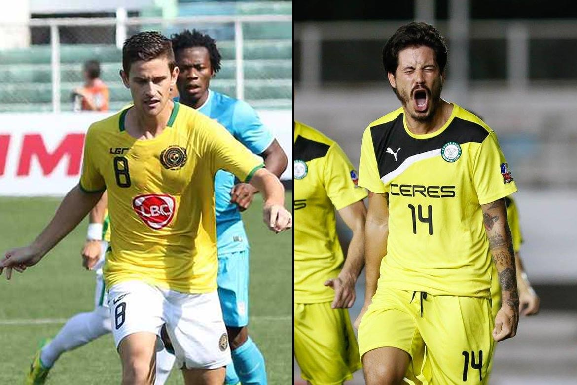 Tiebreaker Times Kaya, Ceres gear up for AFC Cup knockout round AFC Cup Football News UFL  South China AA Kaya FC Johor Darul Ta'zim Chris Greatwich Ceres-La Salle FC Ali Go 2016 AFC Cup