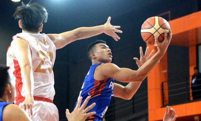 Tiebreaker Times Gilas Cadets smother Singapore to stay perfect Basketball Gilas Pilipinas News  Singapore Nash Racela Mike Tolomia Jio Jalalon Almond Vosotros 2016 SEABA Stankovic Cup