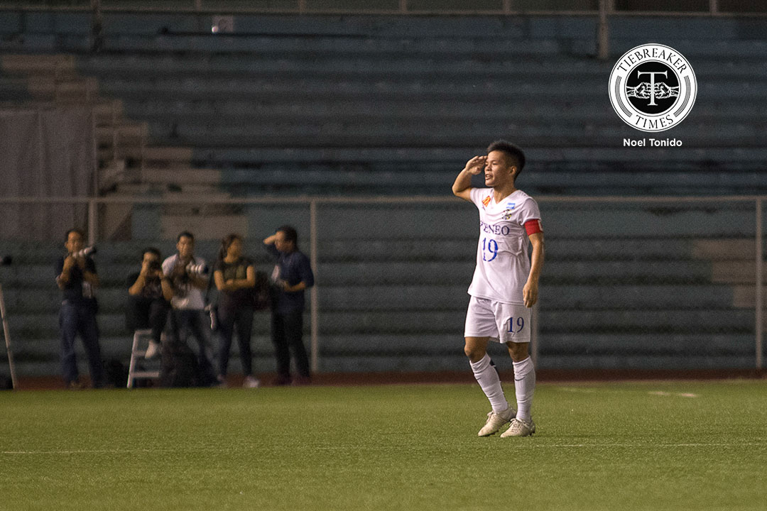 Philippine Sports News - Tiebreaker Times Mabanag, Blue Eagles drift away with promising futures in store ADMU Football News UAAP  UAAP Season 78 Men's Football Tournament UAAP Season 78 Mikko Mabanag Ateneo Men's Football Team