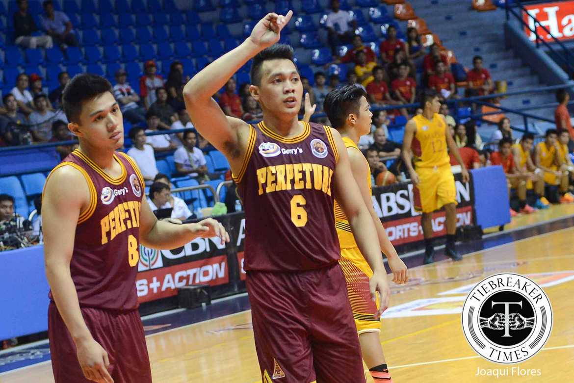 Tiebreaker Times Scottie Thompson devastated after learning news of 'Tatay' Aric's demise Basketball NCAA News UPHSD  Scottie Thompson Perpetual Seniors Basketball Aric del Rosario