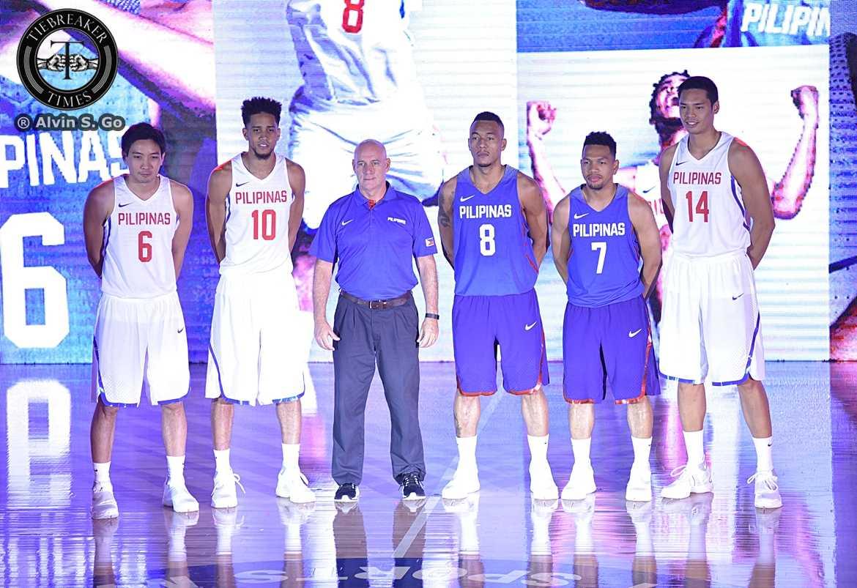 4abbcd03d0ec Tiebreaker Times PHOTOS  Nike unveils Gilas Pilipinas uniform for Manila  OQT 2016 Manila OQT Basketball