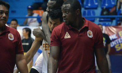 Tiebreaker Times Perpetual head coach Omorogbe follows Del Rosario's footsteps Basketball NCAA News UPHSD  Perpetual Seniors Basketball Nic Omorogbe NCAA Season 92 Seniors Basketball NCAA Season 92 Aric del Rosario